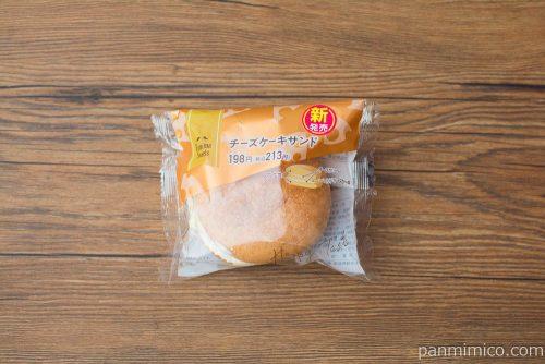 チーズケーキサンド【ファミリーマート】パッケージ