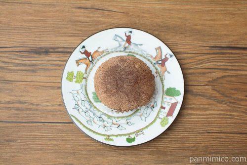 コーヒーヌガー クリームスフレケーキ【ヤマザキ】上から見た図