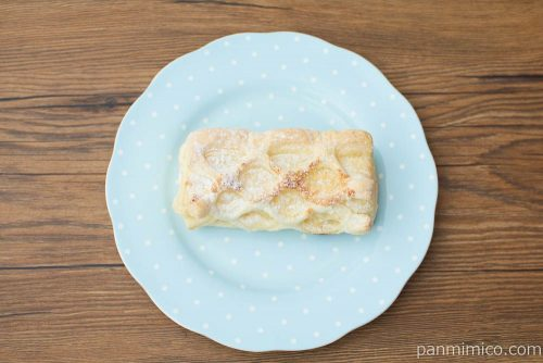 冷やして食べるコロネパイ(チーズクリーム)【ファミマ】上から見た図