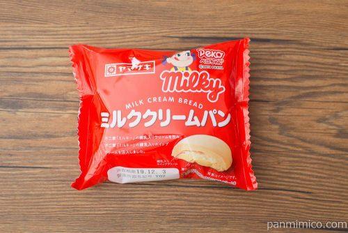ミルククリームパン【ヤマザキ】パッケージ