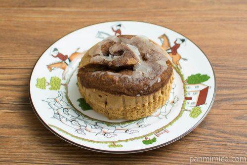 コーヒー蒸しケーキ【Pasco】横から見た図