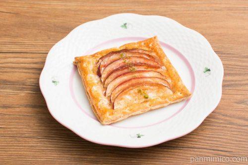 あら、りんご。りんごパイ横から見た図