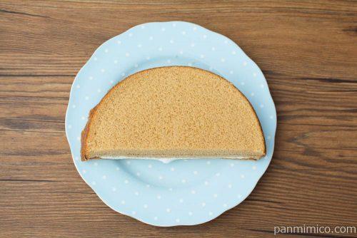 キャラメルクリームサンドケーキ【ヤマザキ】上から見た図