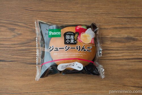 国産小麦のジューシーりんご【Pasco】パッケージ