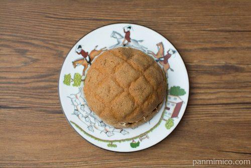 濃厚味わい エスプレッソメロンパン【Pasco】上から見た図