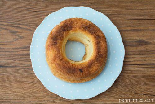 クッキーリングデニッシュ(りんご&カスタード)【ヤマザキ】上から見た図