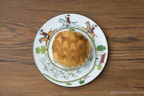濃厚味わい キャラメルケーキ【Pasco】上から見た図