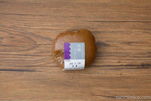もっちりとした黒糖ふかし(こしあん&マーガリン)【ヤマザキ】パッケージ