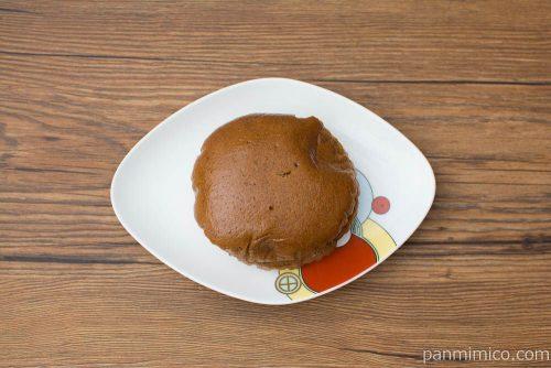 もっちりとした黒糖ふかし(こしあん&マーガリン)【ヤマザキ】上から見た図