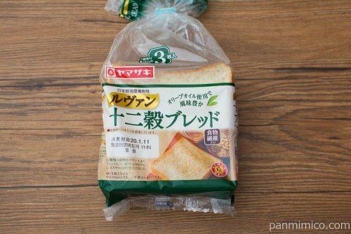 十二穀ブレッド【ヤマザキ】パッケージ