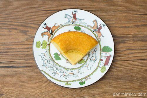 NL 大麦のシフォンケーキ バニラ 2個入 【ローソン】上から見た図