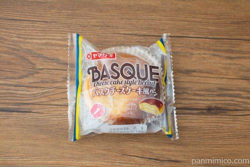 バスクチーズケーキ風パン【ヤマザキ】パッケージ