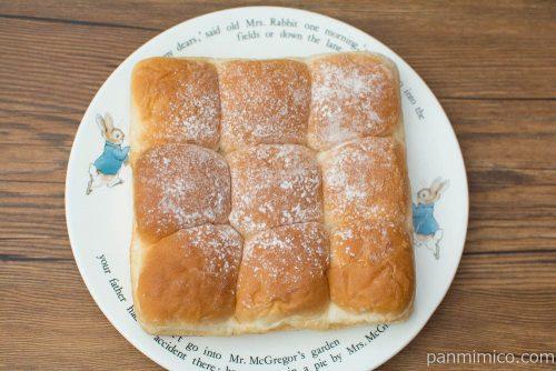 ちぎれるもっちりとしたパン【ヤマザキ】上から見た図