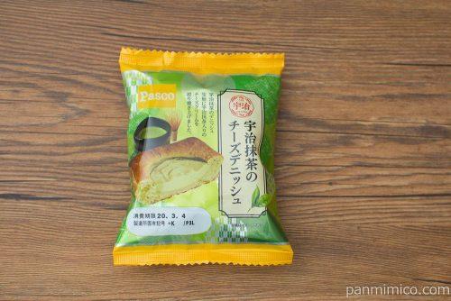 宇治抹茶のチーズデニッシュ【Pasco】パッケージ