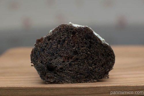 マチノパン フランスチョコのチョコフランス 【ローソン】断面図