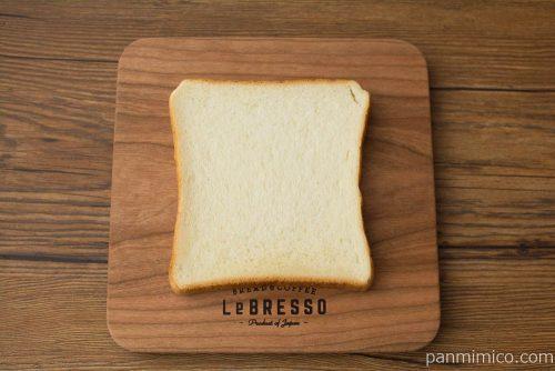 減塩食パン【フジパン】上から見た図