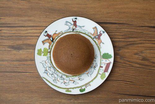 ふんわりパンケーキ~コーヒー&クッキー~(2)【フジパン】上から見た図