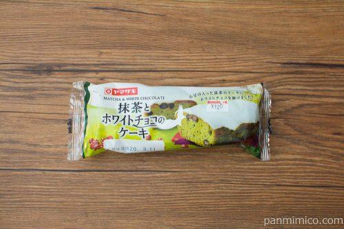 抹茶とホワイトチョコのケーキ【ヤマザキ】パッケージ