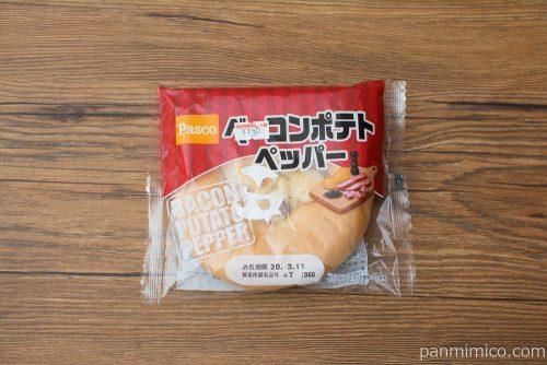 ベーコンポテトペッパー【Pasco】パッケージ
