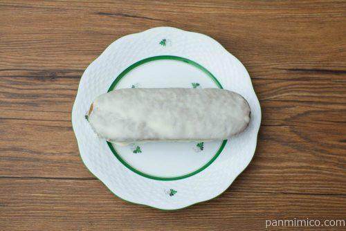 抹茶とホワイトチョコのケーキ【ヤマザキ】上から見た図
