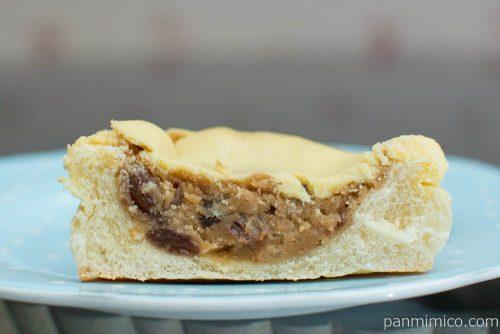 アップルとレーズンのチーズケーキ風【ファミリーマート】断面図