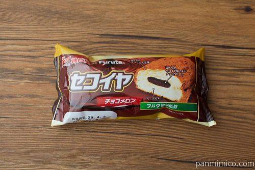 セコイヤチョコメロン【神戸屋】パッケージ