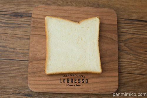 ほんのり甘くてやわらかい食パン3枚【ファミリーマート】上から見た図