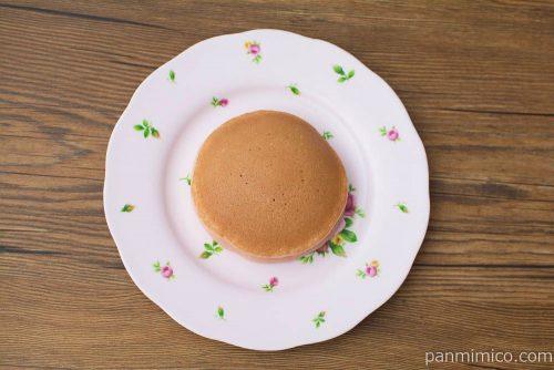 旅するsweets ピーチメルバ風パンケーキ【Pasco】上から見た図