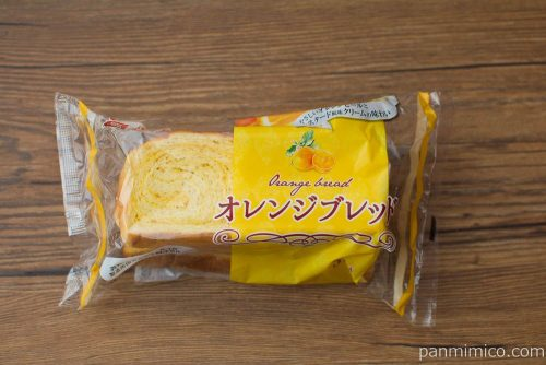 オレンジブレッド3枚入【神戸屋】パッケージ