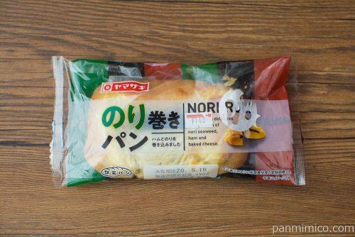 のり巻きパン【ヤマザキ】パッケージ