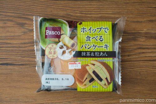 ホイップで食べるパンケーキ抹茶&粒あん【Pasco】パッケージ