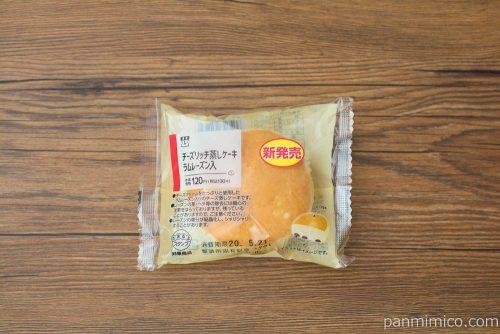 チーズリッチ蒸しケーキ ラムレーズン入【ローソン】パッケージ