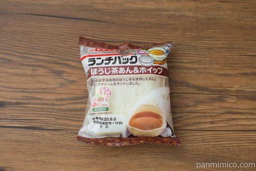 ランチパック ほうじ茶あん&ホイップ【ヤマザキ】パッケージ