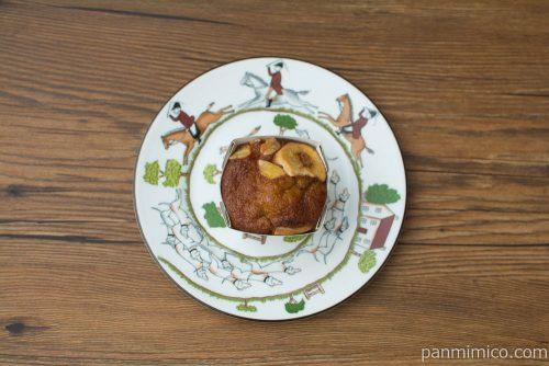 マチノパン バナナたっぷりマイモーニングケーキ【ローソン】上から見た図
