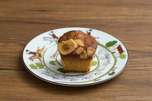 マチノパン バナナたっぷりマイモーニングケーキ【ローソン】横から見た図