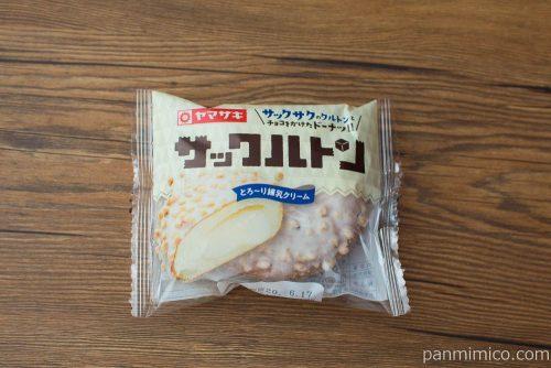 サックルトン(とろ~り練乳クリーム)【ヤマザキ】パッケージ