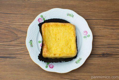 冷やして食べるフレンチトースト【ファミリーマート】上から見た図