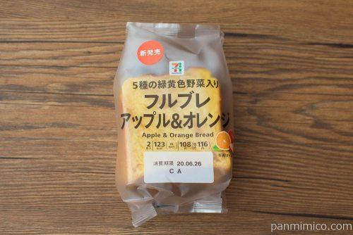 フルブレ アップル&オレンジ 2枚入【セブンイレブン】パッケージ