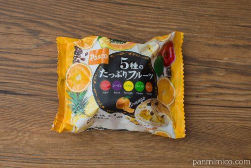 5種のたっぷりフルーツ 【Pasco】パッケージ