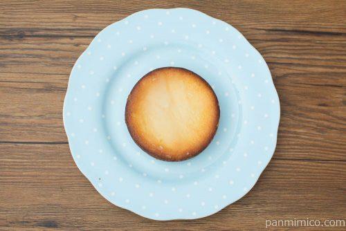 3種の食感を楽しむレモンチーズタルト【ファミリーマート】上から見た図