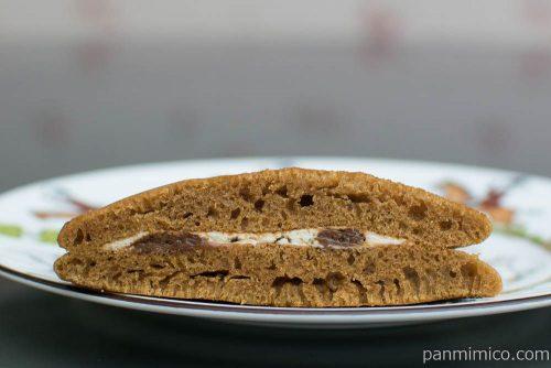 ふんわりパンケーキ白バラコーヒー&ミルク(2)【フジパン】断面図