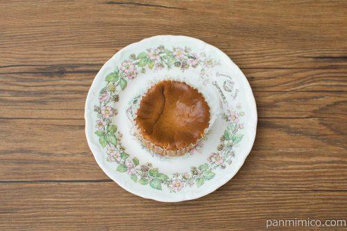 キャラメルバスクチーズケーキ【セブンイレブン】上から見た図