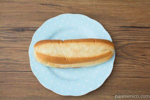 みっくちゅじゅーちゅクリームサンド【第一パン】上から見た図
