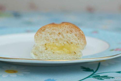 ナイススティック 練乳多めのミルククリーム【ヤマザキ】断面図