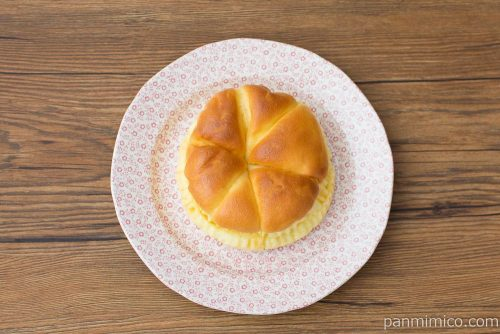 卵たっぷりたまごぱん【ヤマザキ】上から見た図