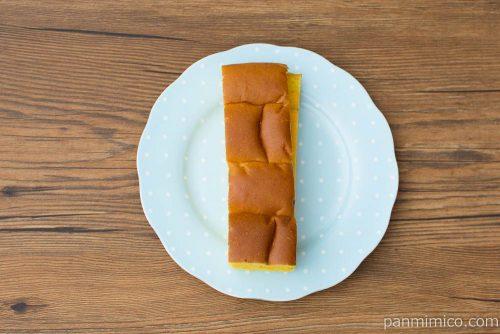 大人の味わい牛乳パン 北海道えびすかぼちゃ【Pasco】上から見た図