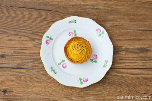 安納芋のタルト【ファミリーマート】上から見た図