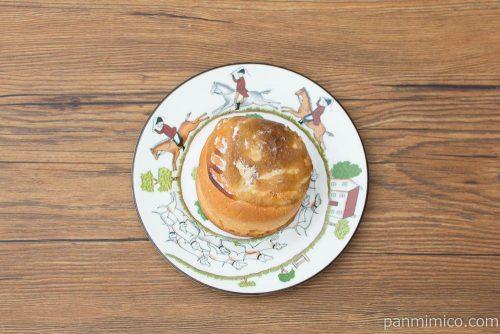 特撰イタリア栗のパン・オ・モンブラン【ヤマザキ】上から見た図