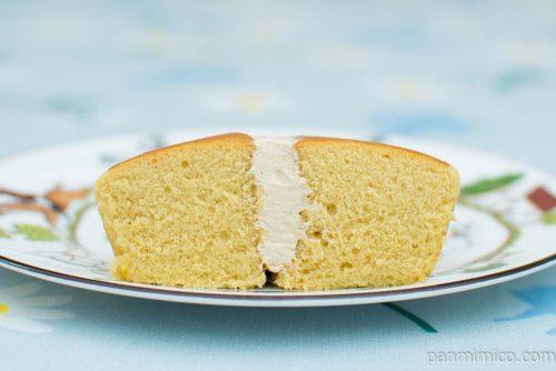 スイートマロン蒸しケーキ【ヤマザキ】断面図