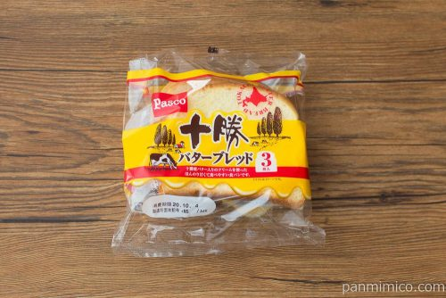 十勝バターブレッド【Pasco】パッケージ